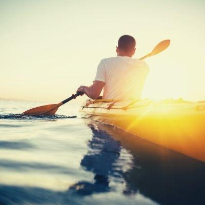 Kayaking Kythnos